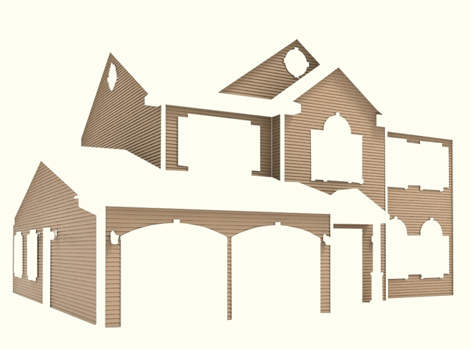 roof segments